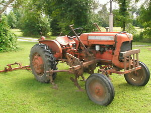 Allis Chalmers D12 Tractor With Cultivators