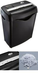 Cross Cut Business Paper Credit Card Shredder With Auto On Off 4 Gallon Bin New