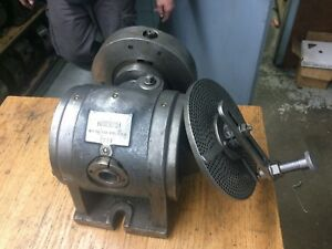 Kempsmith Dividing Head With Spiral Cutting Change Gears For Horizontal Milling