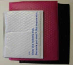 Lot 5 10 25 Poly Bubble Padded Self Seal Envelopes Bags Multiple Color Mailers