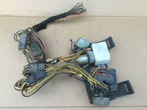 1967 Cougar Sequential Tail Lights Electrical Board 67 Ford
