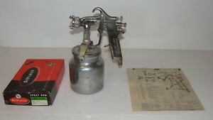 Devilbiss Type P cm Vintage Air Paint Sprayer Spray Gun Series 501 Original Box