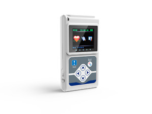 New Contec Ecg 3 Channel Holter Ecg System pc Software 24 Hours Recorder Tlc9803