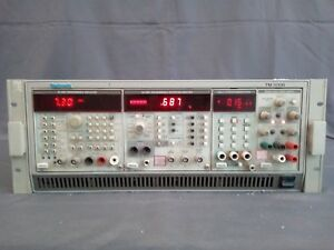 Tektronics Unit With Tm5006 Sg5010 Aa5001 Dm5110 Ps503a