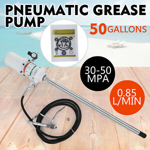 50 Gallon Grease Pump Lubricator 30 60 Mpa Inject Grease Automobile 0 85 L min