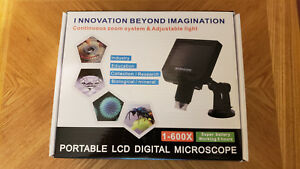 Koolertron 4 3 Lcd Digital Usb Microscope Magnifier With Adjustable Stand 1 600