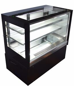220v Countertop Refrigerated Cake Showcase Bakery Dessert Display Cabinet Case