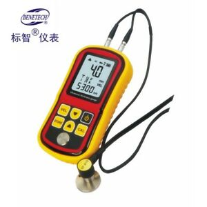 Viewtool Gm 100 Ultrasonic Thickness Gauge Meter Velocity Metal Wave 1 2 225mm
