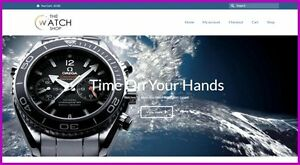Luxury Watches Website 1 281 84 A Sale free Domain free Hosting free Traffic