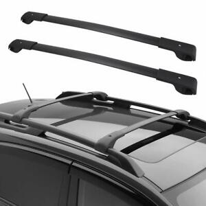 For 2014 2018 Subaru Forester Top Luggage Carrier Roof Rack Cross Bars Pair Set