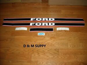 Ford 1720 Tractor Hood Decal Set