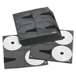 Two sided Cd Refill Pages For Three Ring Binder 25 Per Pack