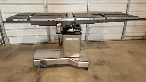 Steris Amsco 3085sp Operating Room Or Surgical Table With Battery Back up
