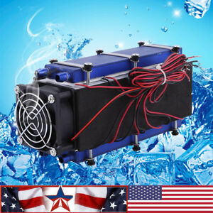 576w 8 chip Tec1 12706 Diy Thermoelectric Cooler Radiator Air Cooling Device