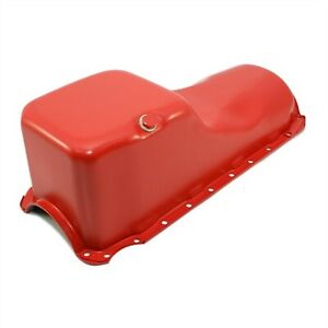 Stock Capacity New Orange Oil Pan 1965 90 Chevy 396 454 Big Block Bbc 402 427