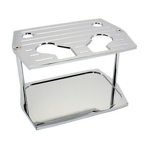 Battery Hold Down Tray Milled Chrome Aluminum Red Yellow Top Optima Group 34 78