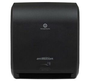 Enmotion 10 Automated Touchless Paper Towel Dispenser Black 59462a Battery Pwr
