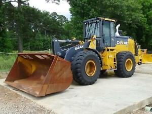 2015 John Deere 644k Wheel Loader