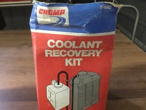 Champ Coolant Recovery Kit Reservoir Container Only 9 1662