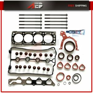 Fits 2004 2005 Chevrolet Aveo 1 6 Dohc 16v L4 Head Gasket Set With Bolts Vin 6