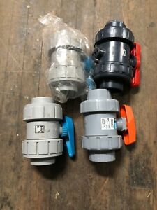 New 2 Union Ball Valves Lot