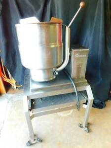 Groen Tdb 7 40 Qt 10 gallon Electric Kettle cooker Mixer 10 8 Kw With Stand
