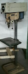 Rockwell Variable Speed Floor Drill Press 15 655 Delta Metal Production Table
