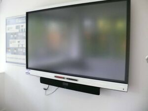 Smart Board 6065 Interactive Flat Panel With Iq 65 Class 64 5 Viewable