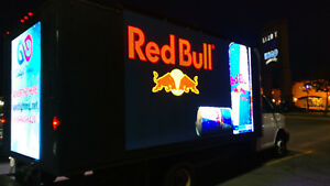 Led Digital Mobile Billboard Truck Custom
