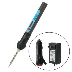 Digital Adjustable Temperature Electric Soldering Iron Set With P6o0