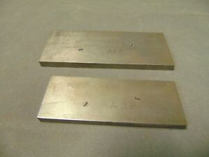 Starrett No 154e And 154f Adjustable Parallels Machinist Grinding Tool Block