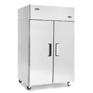 Atosa Mbf8004 Restaurant Equipment 2 Door Stainless Commercial Refrigerator
