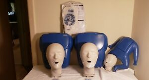 Cpr Prompt 2 Adult And 1 Infant Training Manikins With Bags And Instructions