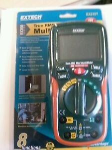 Extech Ex210t Truerms Digital Multimeter With Ir Thermometer New