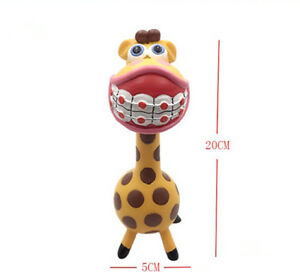 1 X Dental Art Gift Dentist Sculpture Dentistry Teeth Dentist Figurine Giraffe