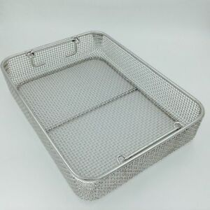 Wire Mesh Stainless Steel Sterilization Instruments Trays