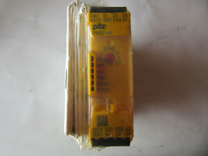 Pilz 750104 Safety Relay Pnozs4 New Factory Sealed Free Shipping