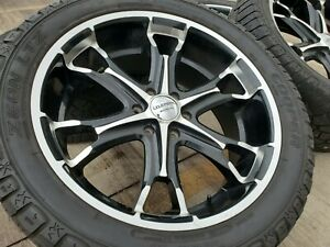 22 Liquid Metal Ford F 150 Expedition Lincoln Navigator Rims Wheels Tires 6x135