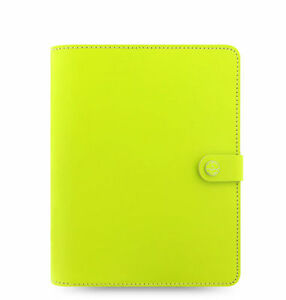 2018 Filofax 026037 Original Organizer planner A5 Pear Leather Made Uk