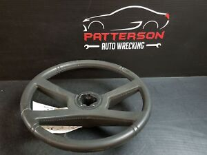 1992 Chevy Pickup 1500 Leather Wrapped Steering Wheel Interior Trim Code 47i