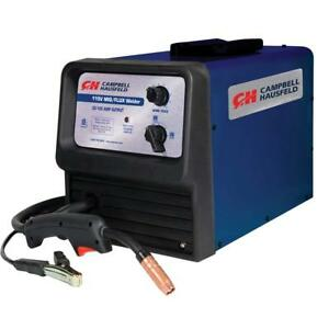 Mig Flux Core Welder 115v 70a With Thermal Overload Protection Campbell Ha