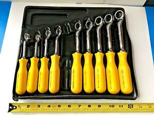 Mac Tools Bopa Yellow Handle Wrench Set