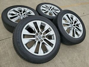 18 Toyota Ch r 2018 2019 Oem Black Wheels Rims Tires 75224 Sienna Camry Rav4