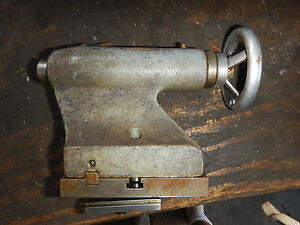 Emco Maximat Metal Lathe Tailstock Assembly