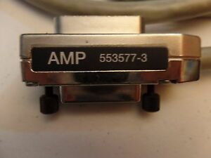 Amp 553577 3 Ieee 488 Gpib Cable 2 Meter Long
