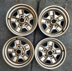 Date Matched 14x6 Oldsmobile Olds Ss Ii Rally Wheels Rims M58 12 19 Nc
