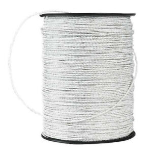 660 Trident White Electric Fence Polywire