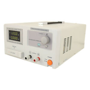120 Volt Adjustable Linear Dc Power Supply 0 3 0 Amps