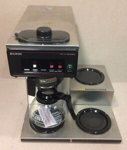 Bunn 12 Cup Auto Coffee Brewer With 3 Warmers Vp17 3 120 Volts u11