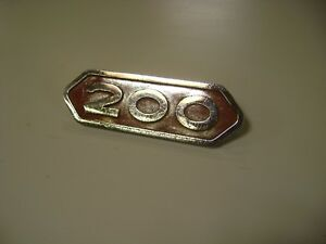 1962 1963 1964 Dodge Power Wagon Sweptline Truck 200 Emblem Badge 1965 1966